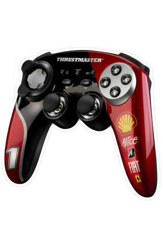 Thrustmaster Ferrari F1 Wireless Gamepad
