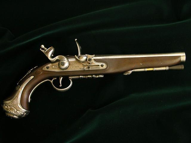 washington flint pistol