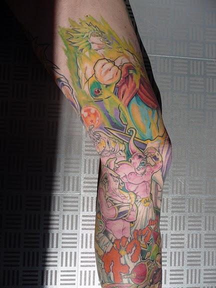 Tejaknathe dragon ball tattoo for Dragon ball z tattoo ideas
