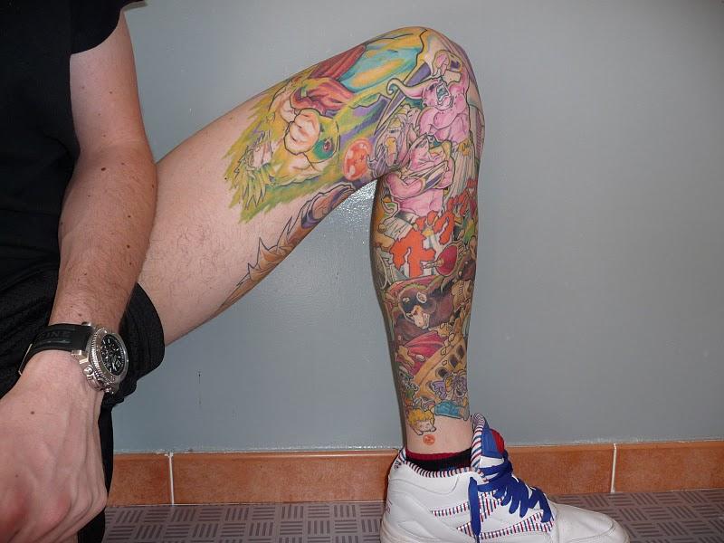 Dragon ball z epic tattoo leganerd for Dragon balls tattoo