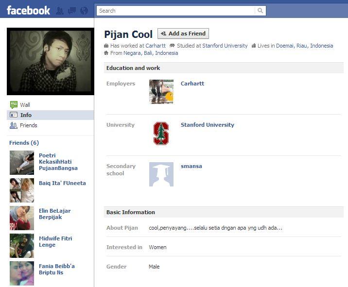 Estremamente Veri profili facebook che suscitano grande ilarità #LegaNerd NI29