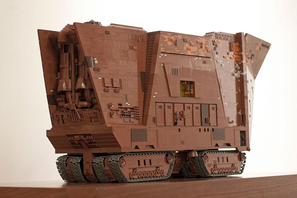 Lego Jawa Sandcrawler Leganerd