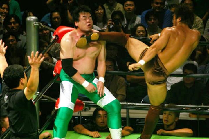 Puroresu: il wrestling giapponese