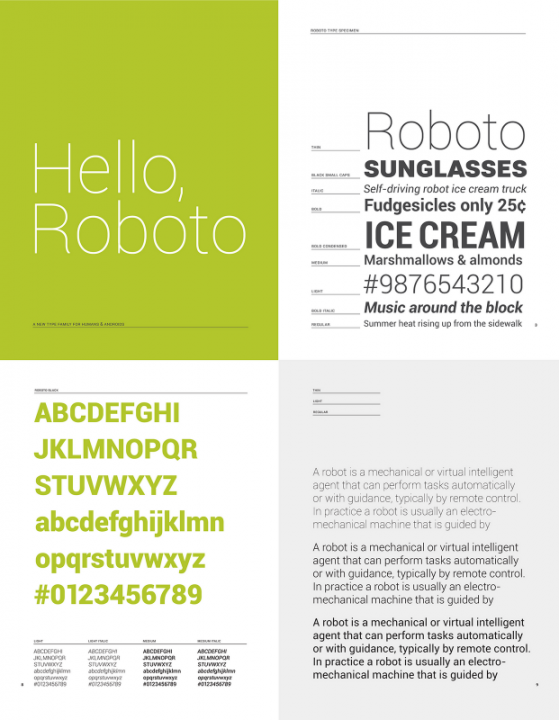Roboto_Specimen_Small