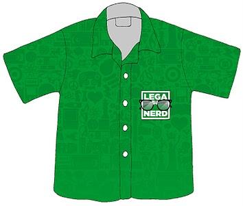 Camicie hawaiiane personalizzate Lega Nerd