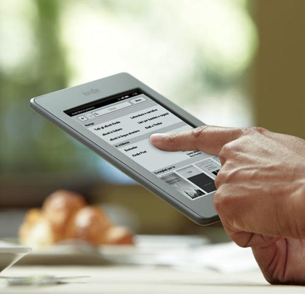Il Kindle Touch disponibile in Italia a 129 euro