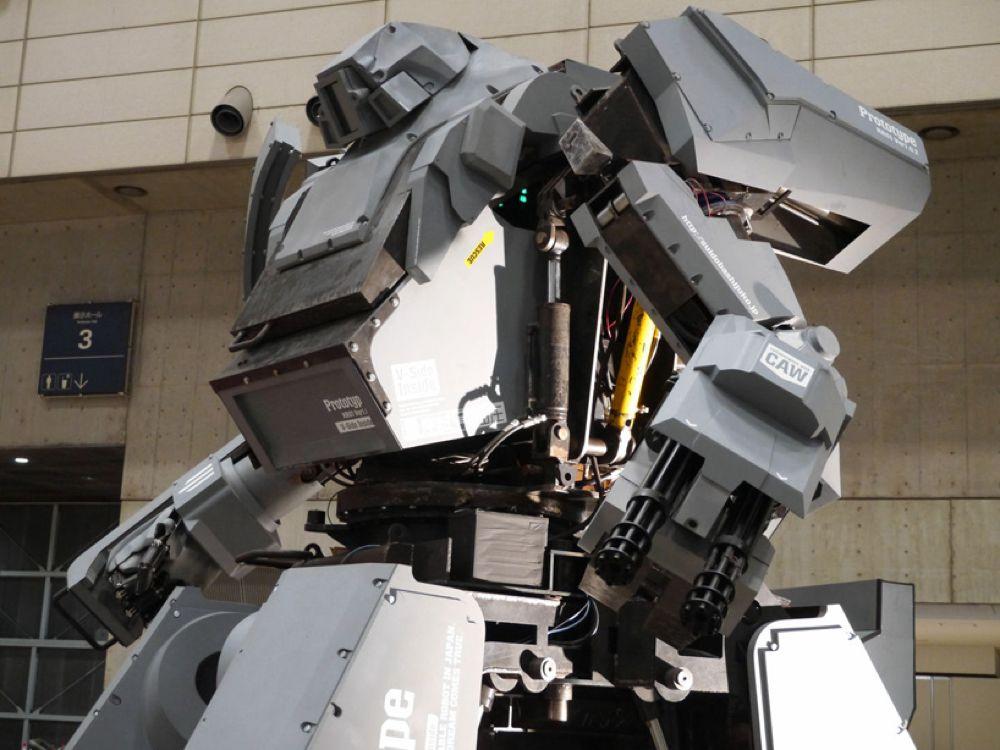 Kuratas - Il robot pilotabile della Suidobashi