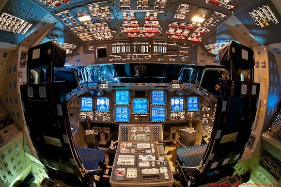 Space Shuttle Flight Decks