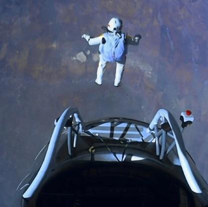 Il salto di Felix Baumgartner
