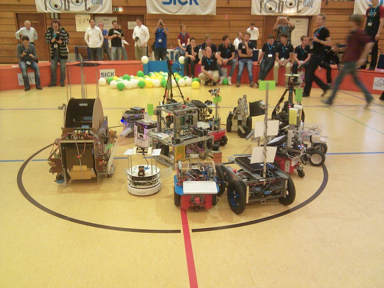 Il team di robotica dell'università di Parma conquista la Germania
