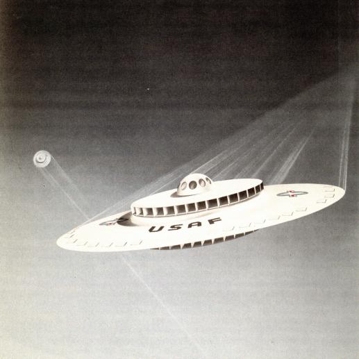 Project 1794: Gli USA lavoravano su un disco volante negli anni cinquanta