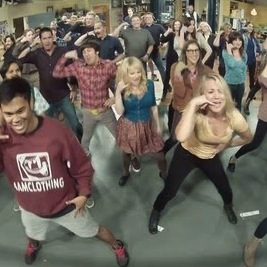 The Big Bang Theory Flash mob