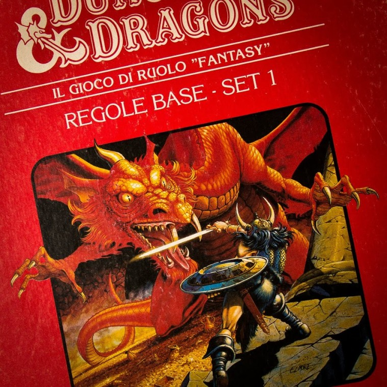 Day 20 - Dungeon & Dragons Red Box