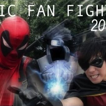 Epic Cosplay Fights
