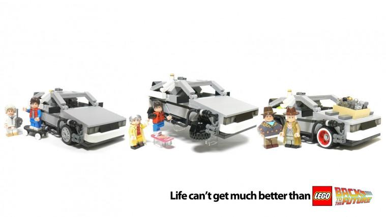Back The The Future LEGO Set