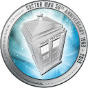 Doctor Who 50th Anniversary Reverse 128x128