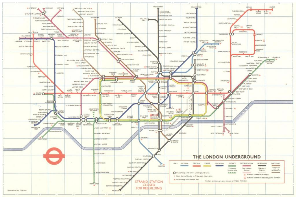 La Metropolitana di Londra compie 150 anni: Ecco come è evoluta
