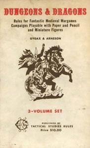 La prima edizione di Dungeons & Dragons