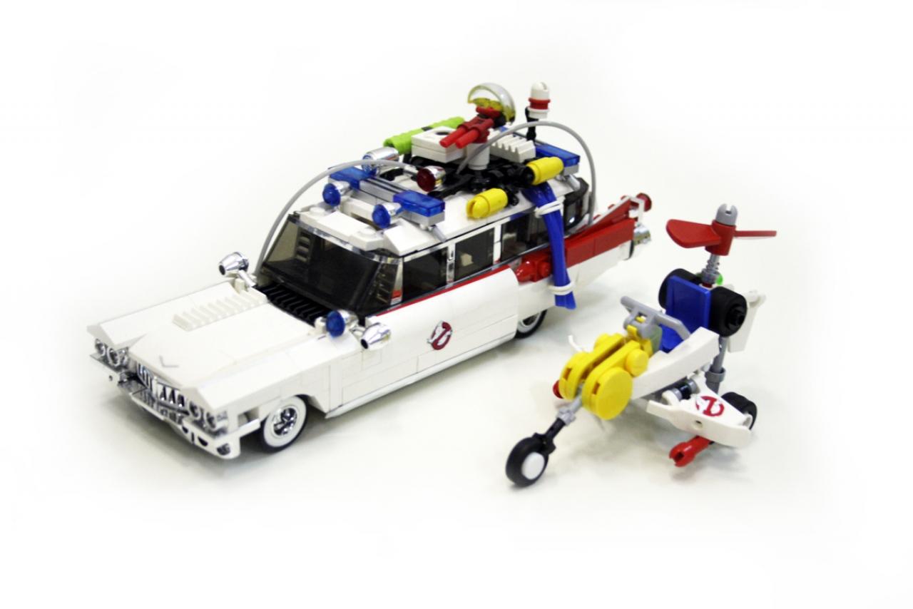 Lego Ghostbusters Headquarter