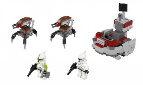 LEGO 75000: Clone Troopers vs. Droidekas