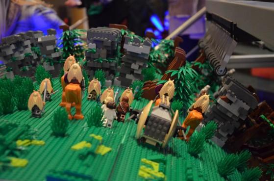 Star Wars Barrel Organ Made of 20,000 Lego Bricks