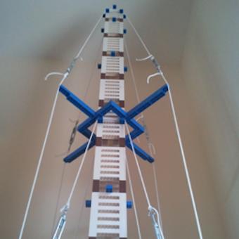 Lego Scraper: la torre di Lego più alta costruita con mattoncini 2x2