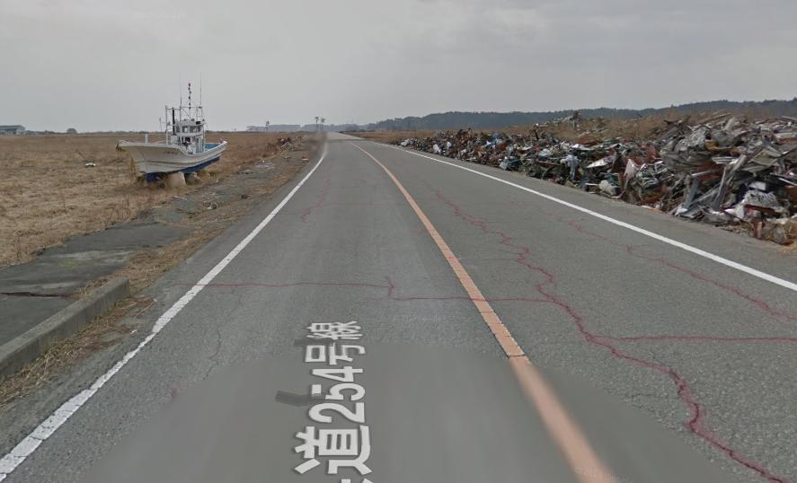 Visitare le zone abbandonate di Fukushima con Google Streetview