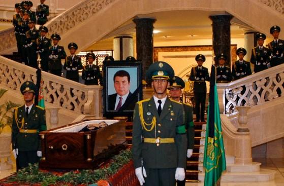 Turkmenistan - Funeral - President Saparmurat Niyazov