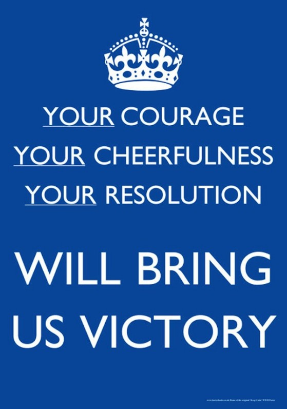 Your Courage, Your Cheerfulness