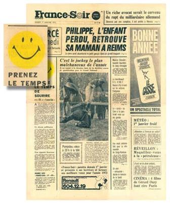 France Soir Smiley