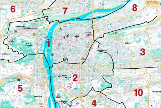 Distretti di Praga