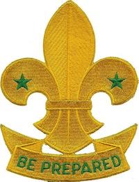 Il giglio, simbolo del movimento scout, come rappresentato in un distintivo canadese