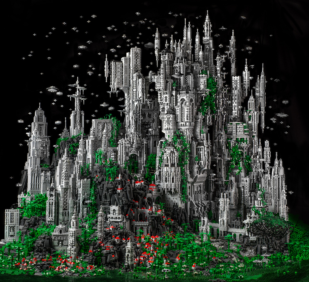 Contact 1: 200,000 Piece LEGO Masterwork by Mike Doyle