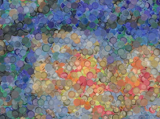 Caps Seurat, dettaglio
