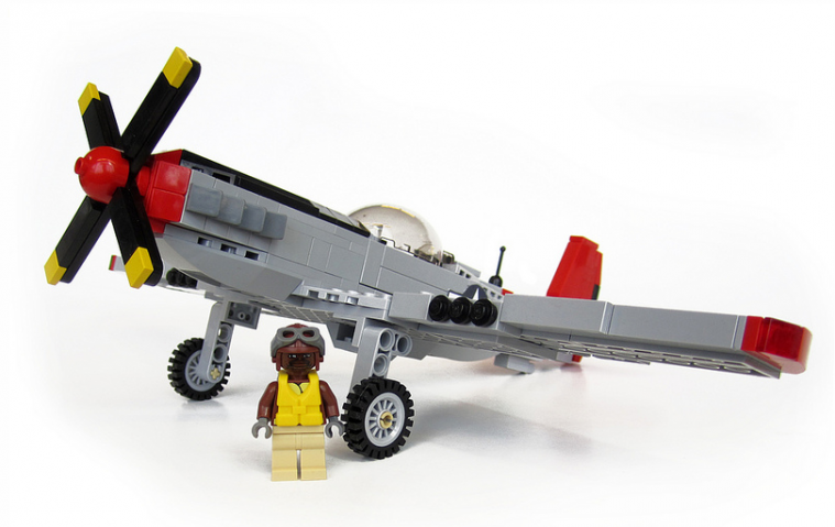 "P-51 Mustang ""Red Tail"""