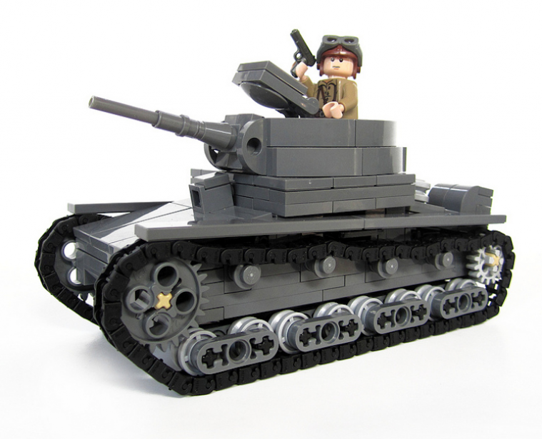 Soviet T-26 Light Tank Model 1939