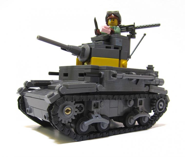 M2A4 Light Tank, USMC, Guadalcanal