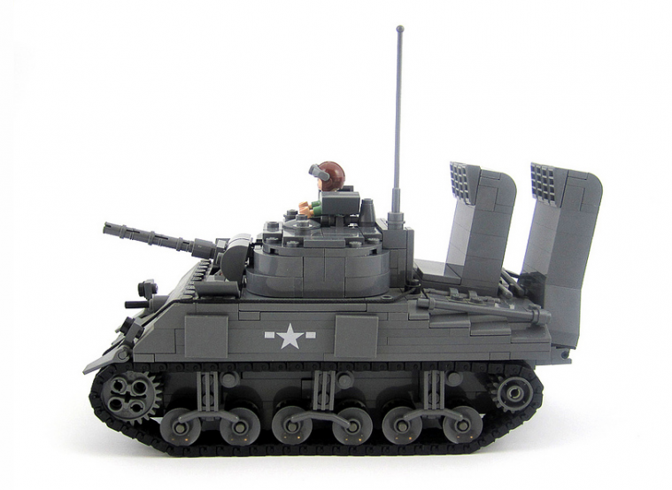 M4A2 Sherman with Wading Kit