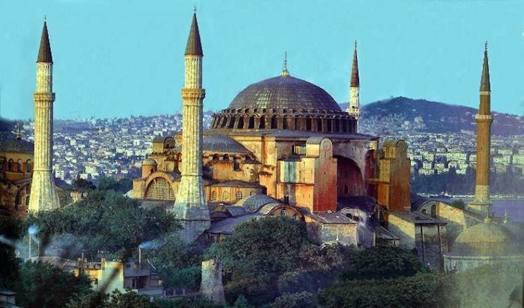 Haghia Sophia di Istanbul