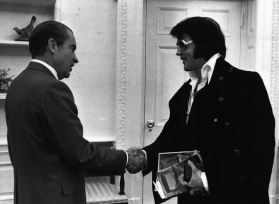 Quella volta che Elvis incontrò Nixon per un distintivo