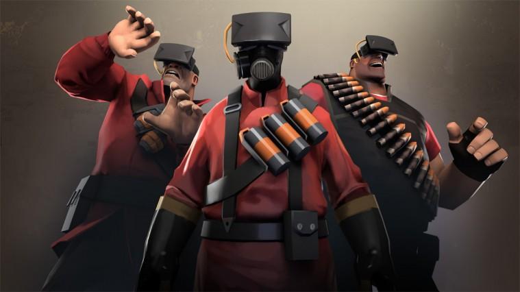 L'Oculus Rift testato con Team Fortress 2