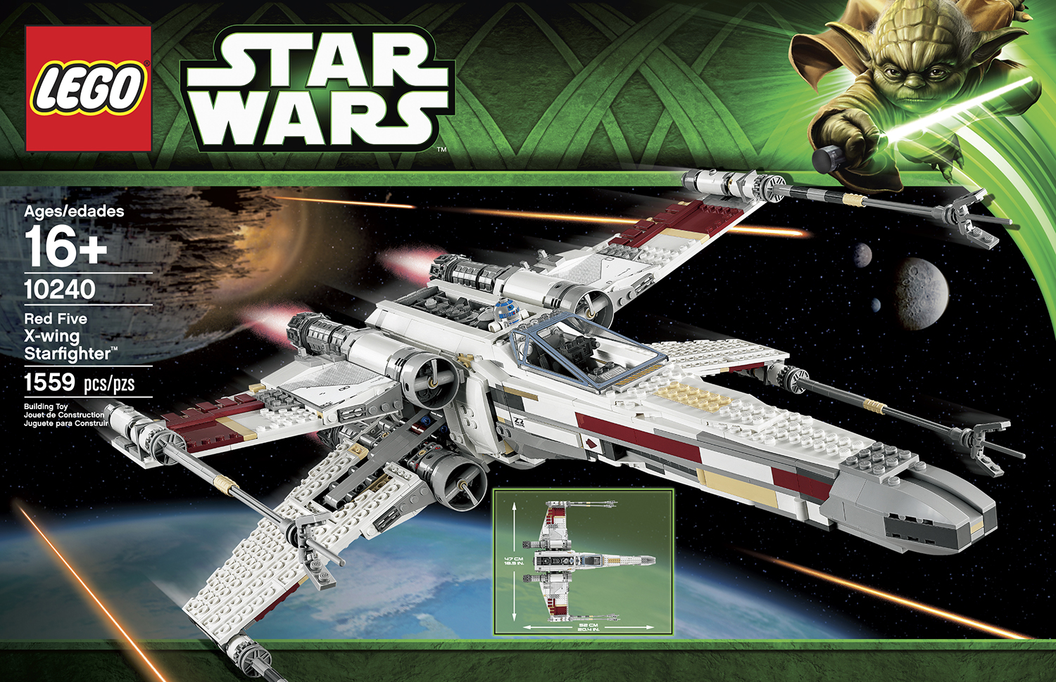 lego 10240 red five x wing starfighter leganerd. Black Bedroom Furniture Sets. Home Design Ideas