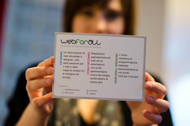 Webforall Day in Ca' Foscari Digital Week