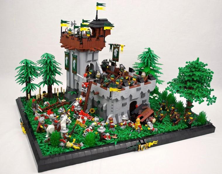 Lego Classic Castle MOCs