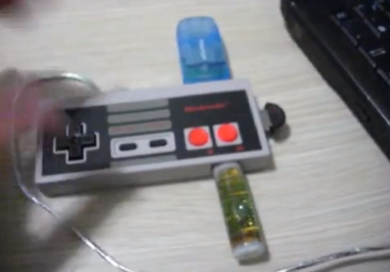 how to make nes controller into usb