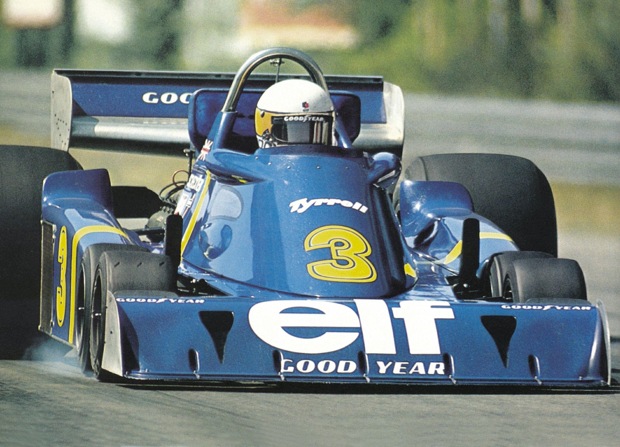 """La Tyrrell P34 e le altre """"sei ruote"""""""