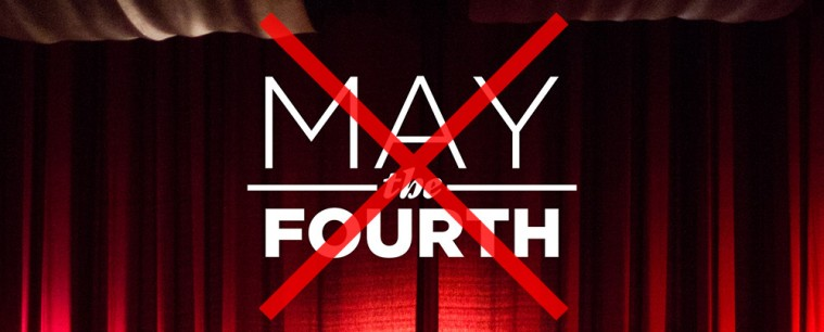 Say No to May the 4th!
