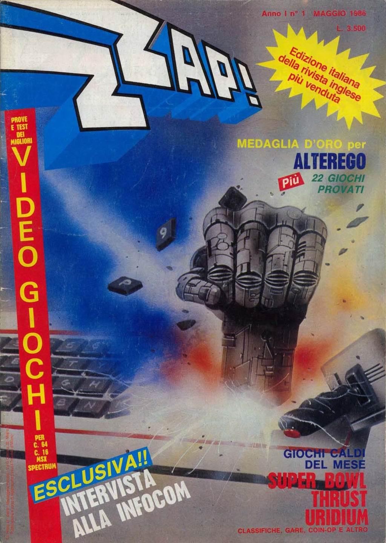 Il primo numero di Zzap!
