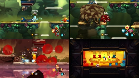 Awesomenauts-Split-Screen-Play