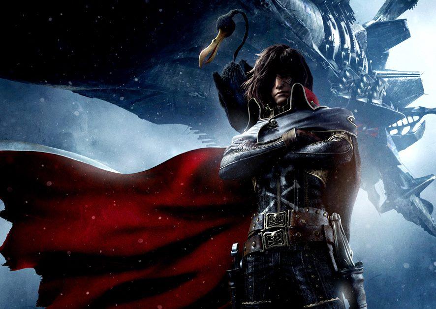 Space Pirate Captain Harlock: Nuovo trailer e dettagli